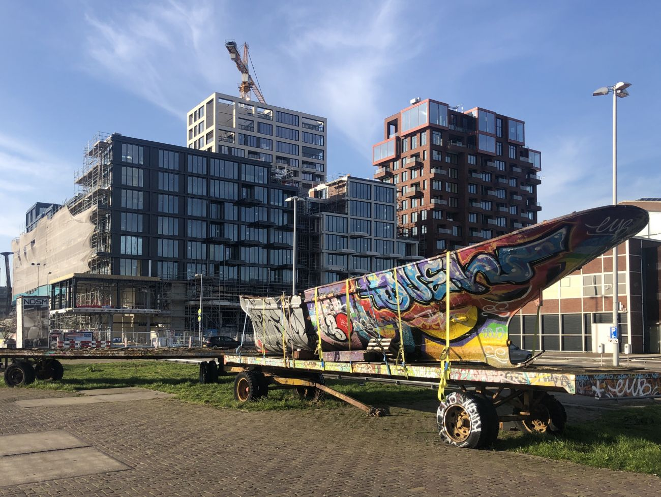 Foto Pontkade Amsterdam boot