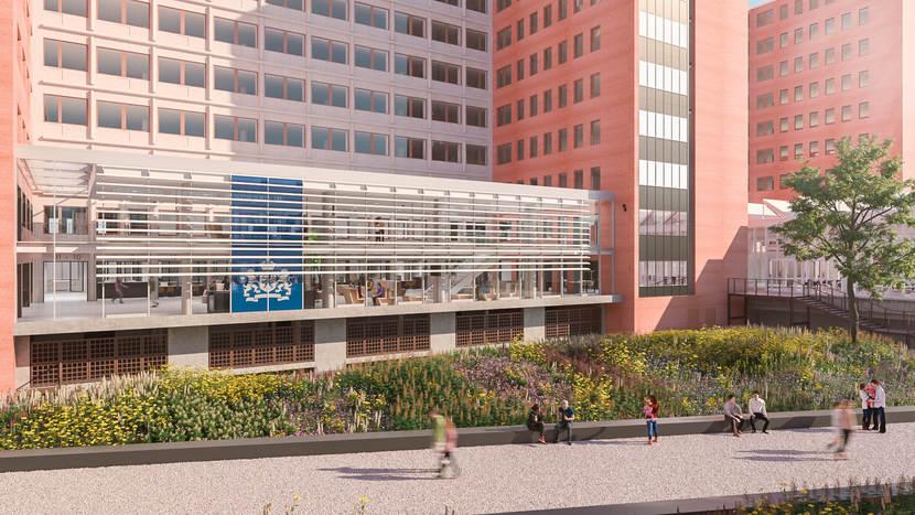 Het Belastingkantoor in Rotterdam gaat compleet op de schop.
